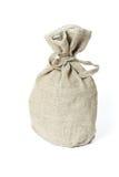 Bruine geweven zak. Royalty-vrije Stock Foto's