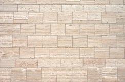 Bruine granietmuur Stock Foto