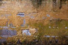 Bruine grijze muur Stock Afbeelding