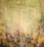Bruine groen blured bloemenaardachtergrond Royalty-vrije Stock Afbeeldingen