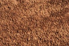 Bruine grondoppervlakte Royalty-vrije Stock Fotografie