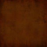 Bruine grungeachtergrond Stock Afbeelding