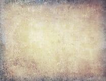 Bruine grungy muur stock illustratie