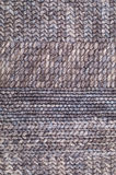 Bruine het breien woltextuur Royalty-vrije Stock Foto's