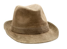 Bruine hoed stock afbeelding