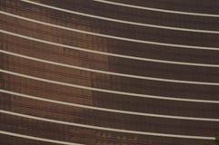 Bruine hotelvensters Royalty-vrije Stock Foto