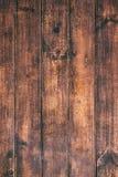 Bruine houten achtergrond Oude uitstekende textuur van schorshout, tabl Stock Fotografie