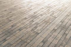 Bruine houten bevloering stock illustratie