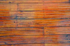 Bruine houten de foto natuurlijke achtergrond van de daktextuur Royalty-vrije Stock Foto