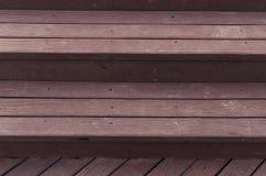 Bruine houten de textuurachtergrond van de plankmuur Royalty-vrije Stock Afbeelding