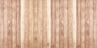 Bruine houten de textuurachtergrond van de plankmuur Royalty-vrije Stock Afbeeldingen