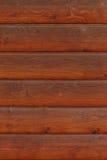 Bruine houten muur stock afbeelding