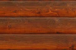 Bruine houten muur die van raad wordt gemaakt stock afbeeldingen