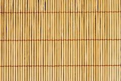 Bruine houten omheiningsachtergrond Stock Afbeeldingen