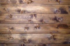 Bruine houten pijnboomachtergrond Royalty-vrije Stock Afbeeldingen