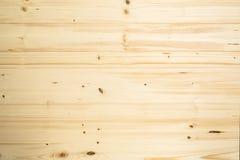 Bruine houten planktextuur, houten muur Stock Fotografie