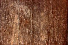 Bruine houten textuur Stock Afbeelding