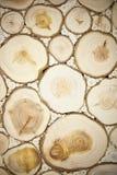 Bruine houten textuur Stock Afbeeldingen