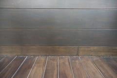 Bruine houten textuur Abstracte achtergrond, leeg malplaatje voor exemplaar stock foto