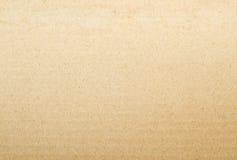 Bruine kartondocument achtergrond Stock Foto