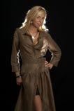 Bruine kleding Royalty-vrije Stock Foto