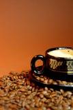 Bruine koffie Royalty-vrije Stock Foto