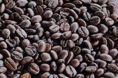 Bruine koffie Royalty-vrije Stock Afbeeldingen