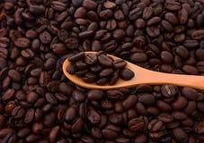 Bruine koffie bruine koffieachtergrond royalty-vrije stock afbeelding