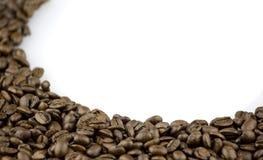 Bruine koffiebonen Stock Foto
