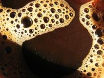 Bruine koffieroom Stock Afbeeldingen