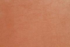 Bruine Kunstledertextuur Royalty-vrije Stock Afbeeldingen