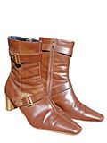 Bruine laarzen Royalty-vrije Stock Fotografie