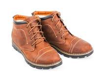 Bruine Laarzen Stock Afbeeldingen