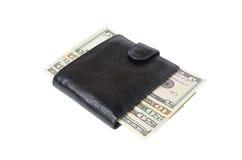 Beurs met geld Stock Afbeelding