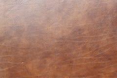 Bruine leertextuur Stock Foto