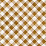 Bruine lijstdoek stock illustratie