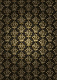 Bruine luxeachtergrond Stock Afbeelding