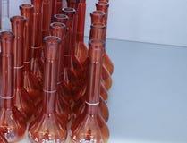 Bruine medische flessen vector illustratie