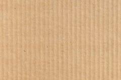 Bruine moderne van de kartonclose-up textuur als achtergrond Stock Fotografie