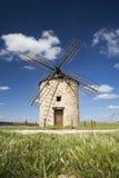 Bruine molen Stock Afbeelding