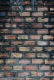 Bruine muur Royalty-vrije Stock Afbeelding