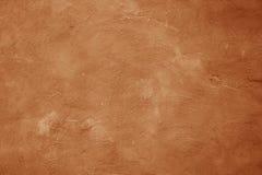 Bruine muur gekraste textuurachtergrond Stock Afbeelding