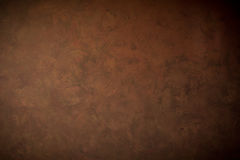 Bruine muurachtergrond en textuur royalty-vrije stock afbeelding