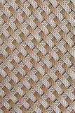 Bruine naadloze het patroonachtergrond van het rotanweefsel Royalty-vrije Stock Afbeeldingen