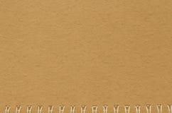 Bruine notitieboekjedocument achtergrond, oud notitieboekje textur Stock Foto's