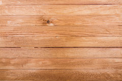 Bruine oude houten textuur met knoop Stock Afbeeldingen