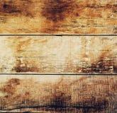Bruine oude natuurlijke houten planken Donkere oude leeg Stock Afbeeldingen
