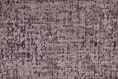 Bruine pluizige achtergrond van zachte, wolachtige doek Textuur van textielclose-up stock foto's