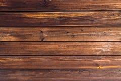 Bruine raadsachtergrond Houten van de de basistoon van het textuurpatroon natuurlijk donker okkernoot gekleurd het Webontwerp Royalty-vrije Stock Foto's