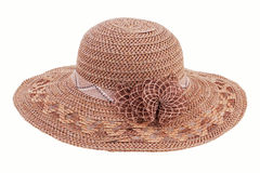 Bruine rieten bonnet stock foto's